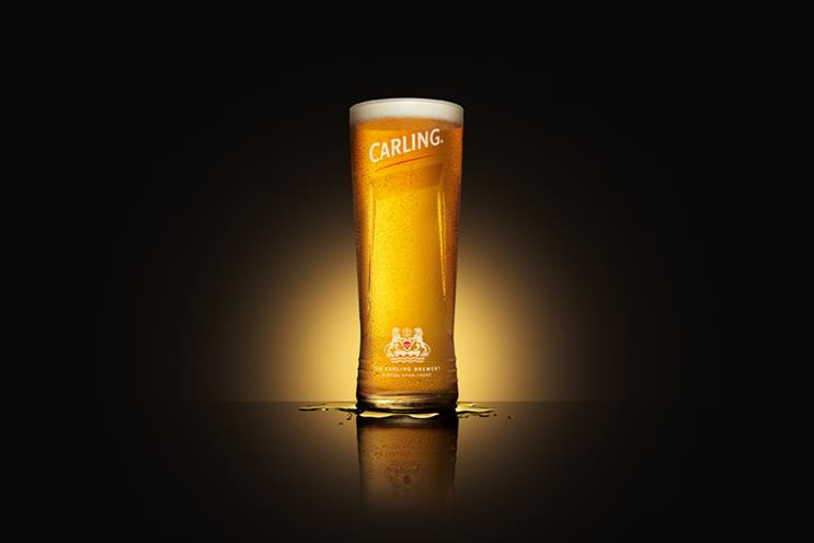 Carling: kicked off ad account review last week