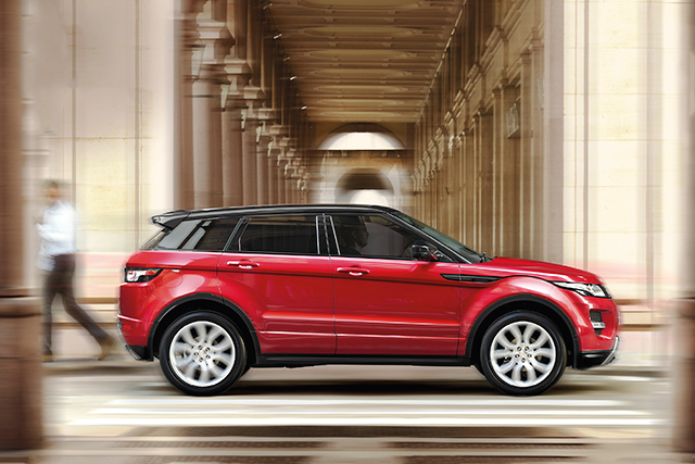 Range Rover Evoque: new campaign celebrates 'iconic' design