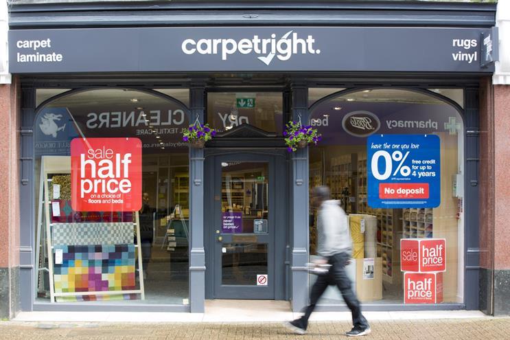 Carpetright picks Y&R London to 'refresh' creative
