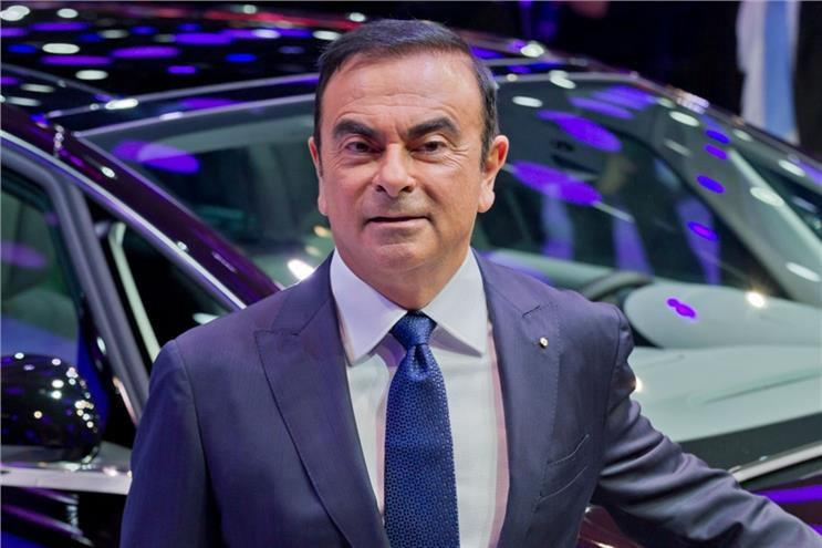 Nissan: Ghosn was arrested this week (picture credit: Shutterstock)