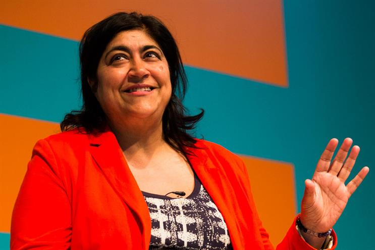 Gurinder Chadha: it took four years to get 'Bend it Like Beckham' financed (Picture: Bronac McNeill)