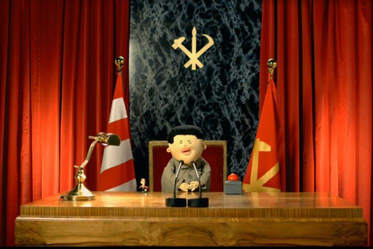 Crispin Porter & Bogusky: Chairman Kim for Paddy Power
