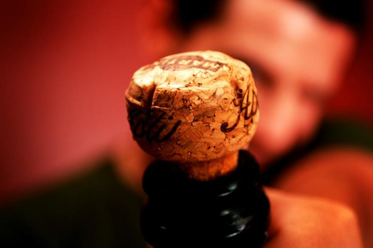 The brand will attempt the longest champagne cork-popping relay (Flickr: Creative Commons)