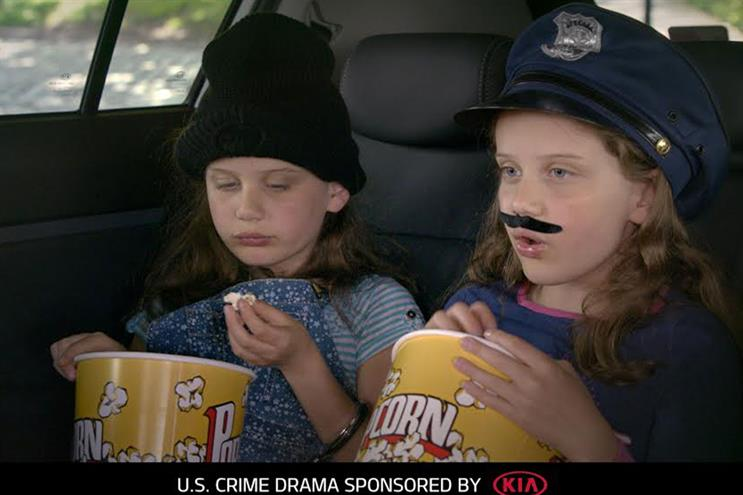 Kia Motors: sponsors Channel 5 crime dramas