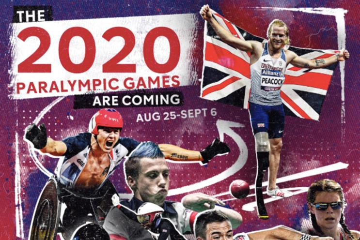 Paralympic Games on Channel 4: sponsorship branding will also appear on All 4 and C4's live-streaming site