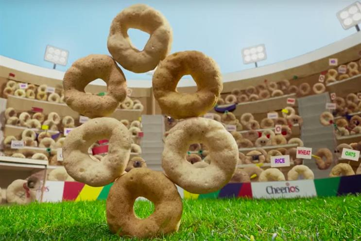 """Cheerios: """"no artificial colours or flavours"""" campaign"""