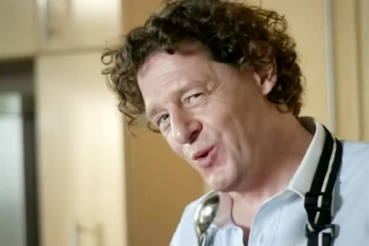 Michelin-starred chef Marco Pierre White