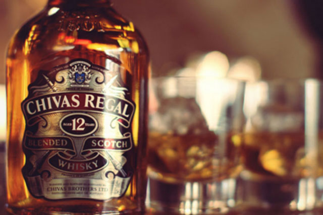 Chivas: Pernod Ricard brand