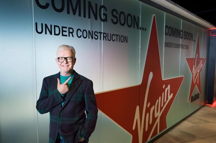 Virgin Radio partners Sky for ad-free Chris Evans show
