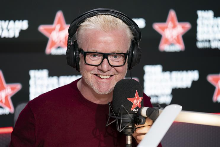 Chris Evans' ad-free show debuts on Virgin Radio