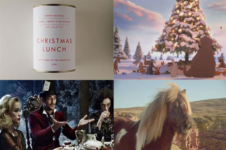 Christmas ads 2013: Campaign lists the most popular