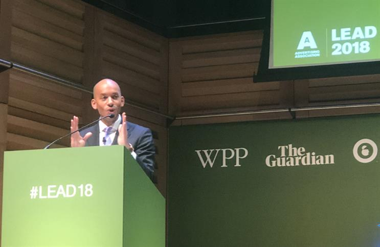 Ministers are deceiving public about Brexit, Labour MP Umunna warns ad industry