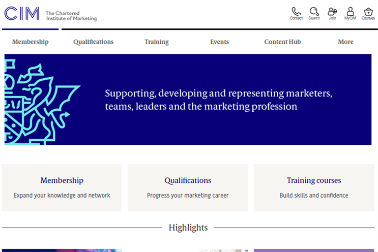 Chartered Institute of Marketing ups focus on strategic marketing in new platform