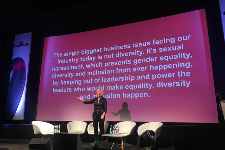 Cindy Gallop turns fire on WPP over gender equality