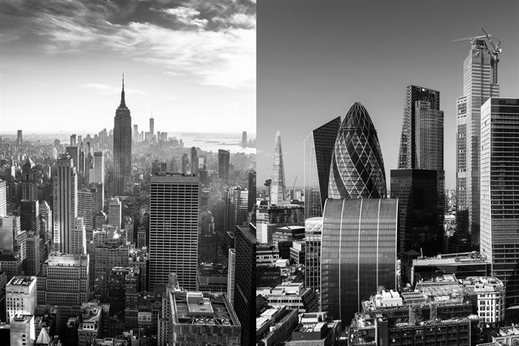 Garrod works in London and James works in New York.