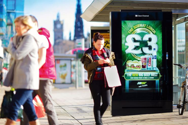 Street furniture: Clear Channel UK is tbe incumbent