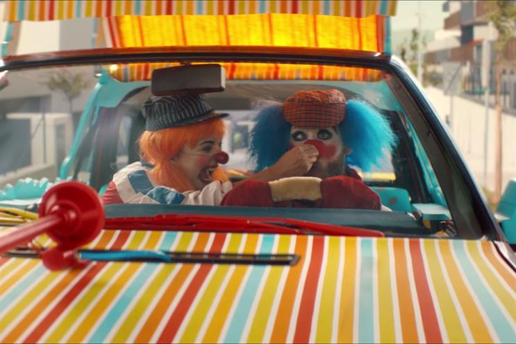 Clowns: ad won Campaign's Creative Grand Prix in 2017