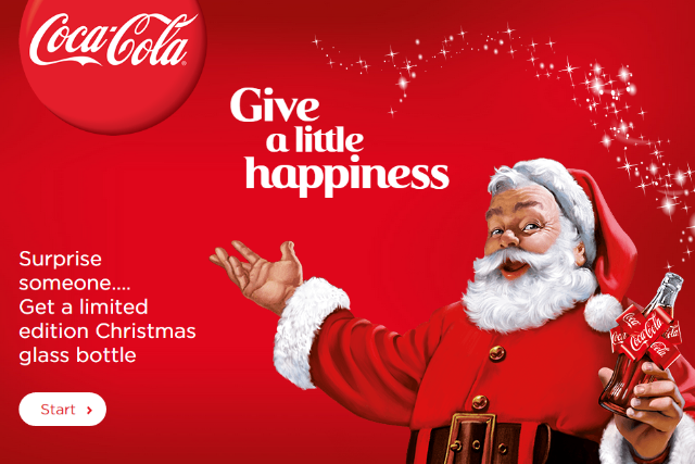 coca cola adds personalisation to the christmas 2014 campaign - Coca Cola Christmas Commercial