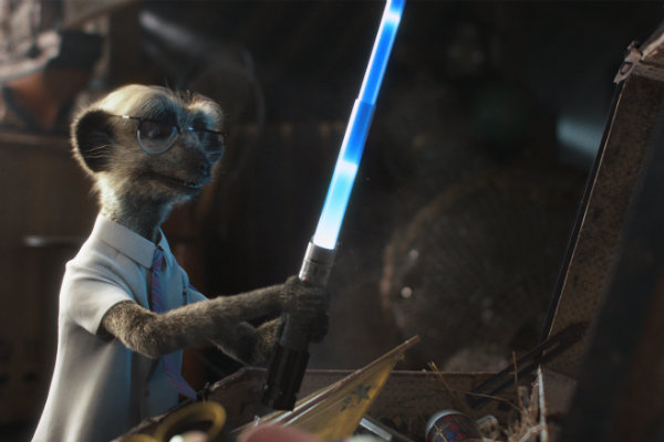 Sergei relives his Star Wars memories after discovering his toy light sabre