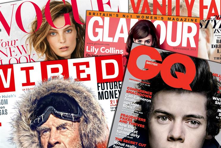 Condé Nast finds comparable dwell times for print and digital flagship brands