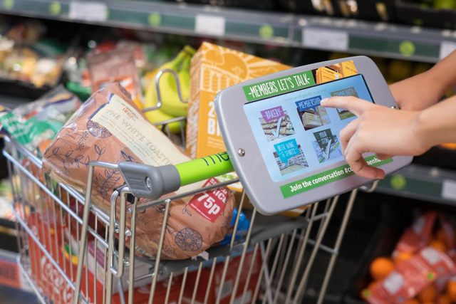 Hi-tech trollies: Co-operative Food uses tablets to canvass shopper opinion