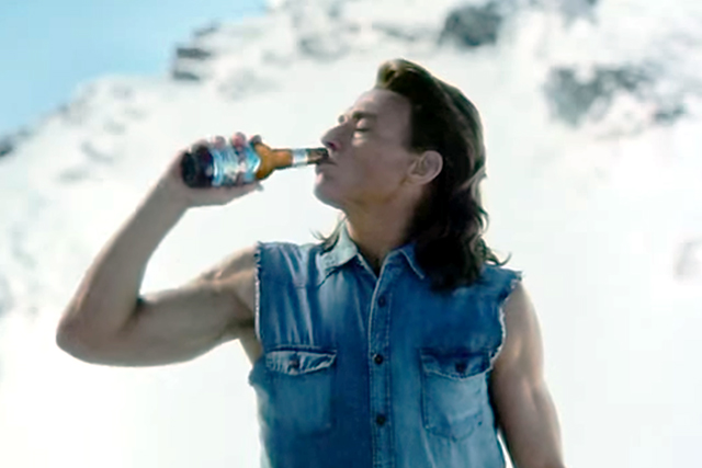 Coors Light: stays cool with Jean-Claude Van Damme