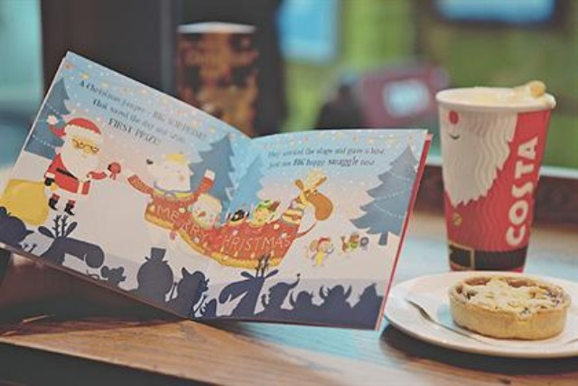 Costa: launched a children's book for Christmas