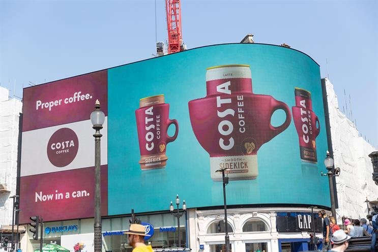 Costa: acquired by Coca-Cola earlier this year