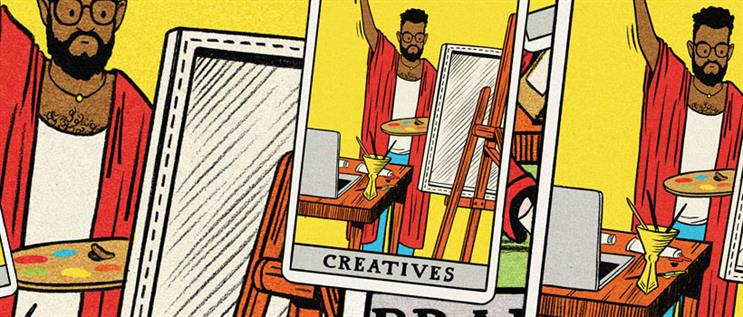 The year ahead for creativity: turning the negative into a positive