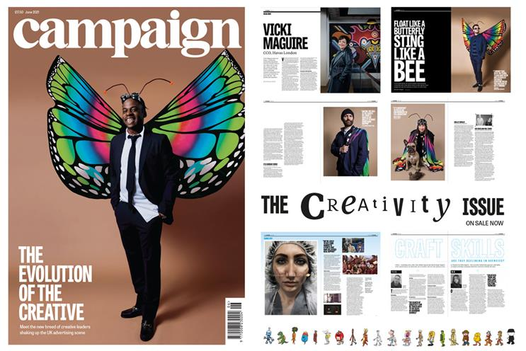 Campaign: June issue is a creativity special