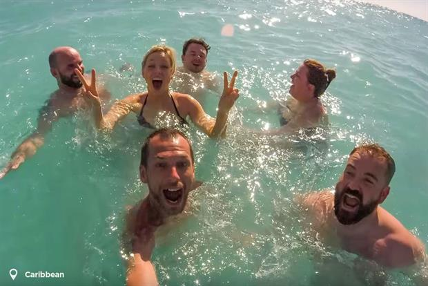 Thomson Cruises using vloggers to get across the experience of a cruise