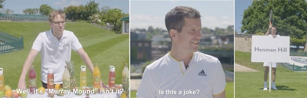 Watch: Henman wants his hill back in Robinsons Wimbledon campaign
