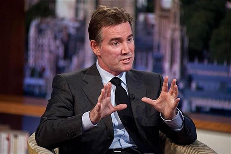 Adam Crozier, ITV's chief executive, pointed to the Brexit debate and 'uncertainty' in the UK ad market