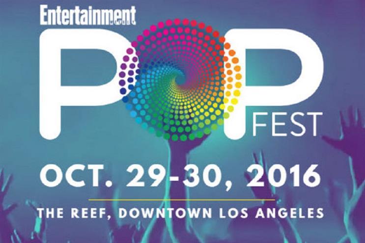 EW PopFest will feature multiple media platforms under one roof