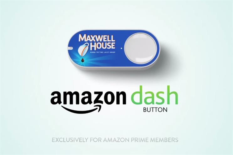 Amazon Dash Button: thought to be an April fool