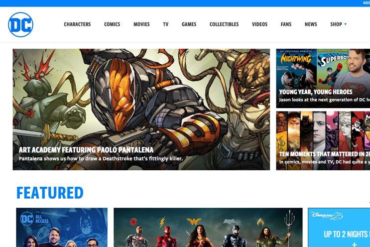 DC Comics to open pop-up shop in Washington DC