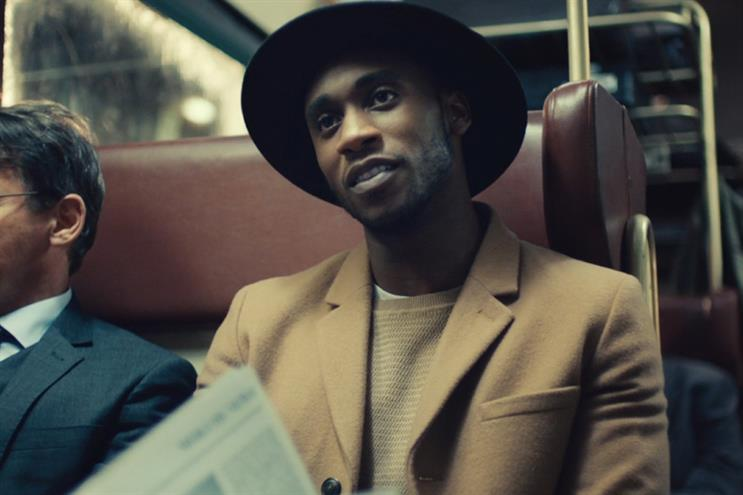Debenhams: ad tells story of a man trying to find a woman he saw on a train
