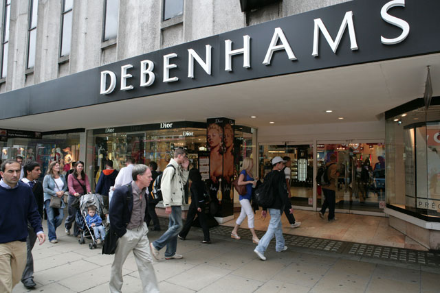 Debenhams: Sports Direct acquires 56.8 million shares in the clothing retailer
