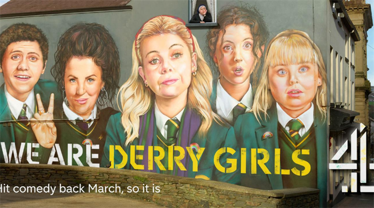 Derry Girls: Channel 4 and OMD were awarded at the Campaign Media Week awards last year