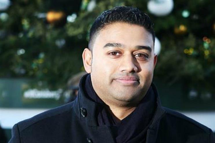 San Miguel's senior brand manager Dharmesh Rana