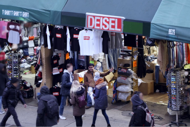 Diesel opens fake pop-up for New York Fashion Week