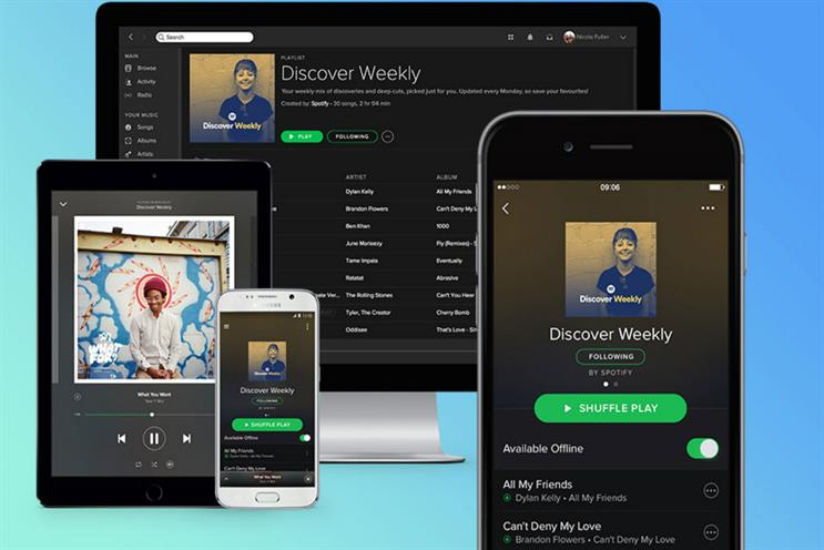 Discover Weekly: playlist is updated every Monday