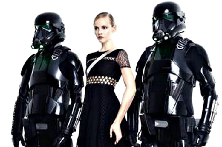 A Star Wars-themed fashion campaign is the first initiative as part of the partnership