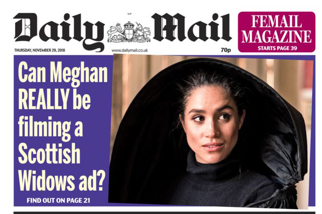 Daily Mail: widest reach of any newspaper