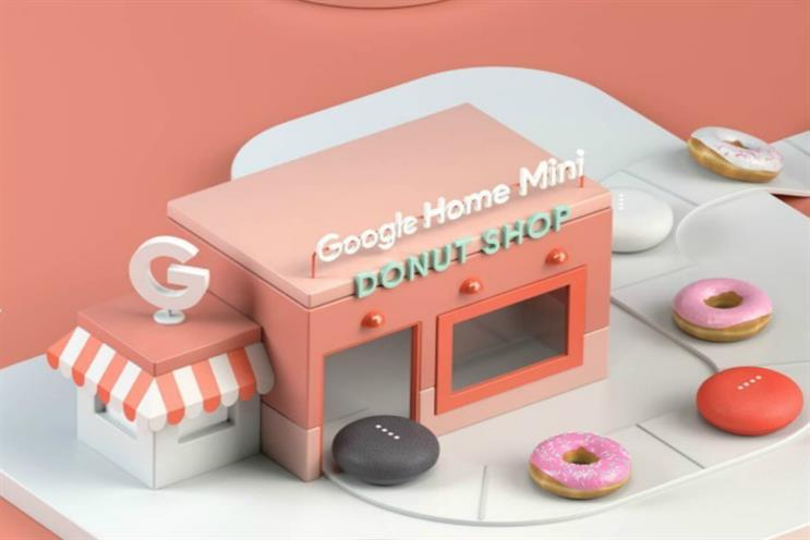 Google reveals doughnut shop to launch latest home assistant