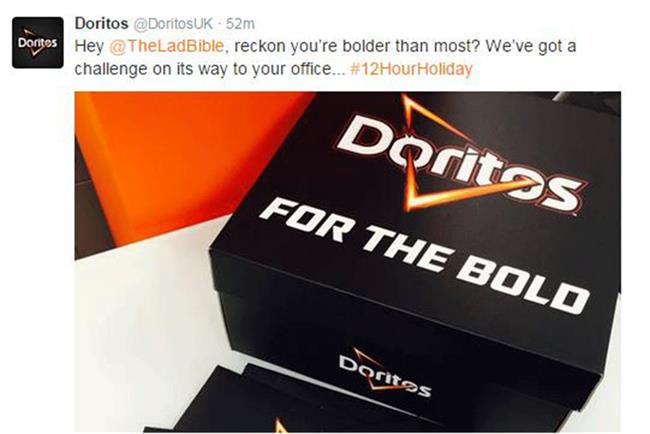 Doritos: partners The Lad Bible and OMD UK to launch The Summer Bible