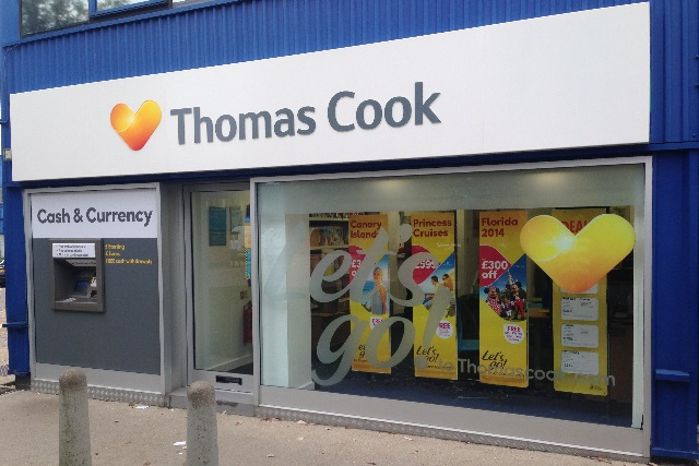 Thomas Cook: brand has restructured management