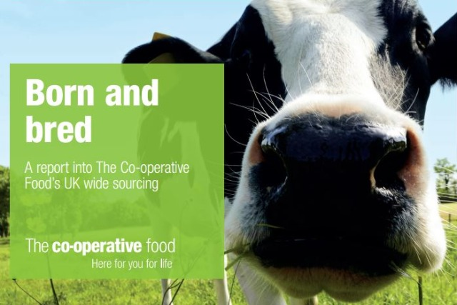 The Co-operative Food: pledging to invest £1.5bn in sourcing British produce