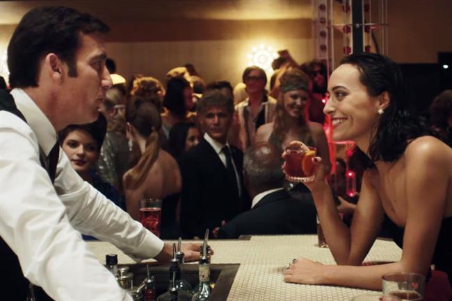 Campari: Clive Owen starred in ad earlier this year by JWT Milan