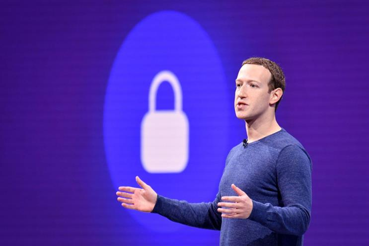 Mark Zuckerberg: vowed to make privacy protection Facebook's top priority in 2018